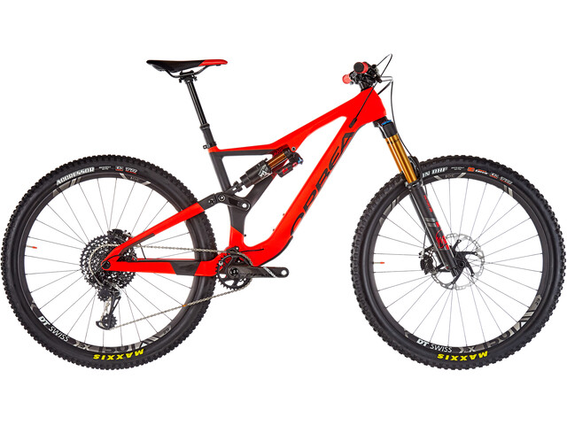 ORBEA Rallon M-Team, red/black